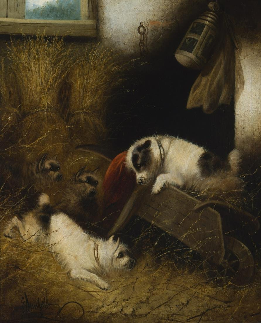 George Smith Armfield (1808-1893 British)