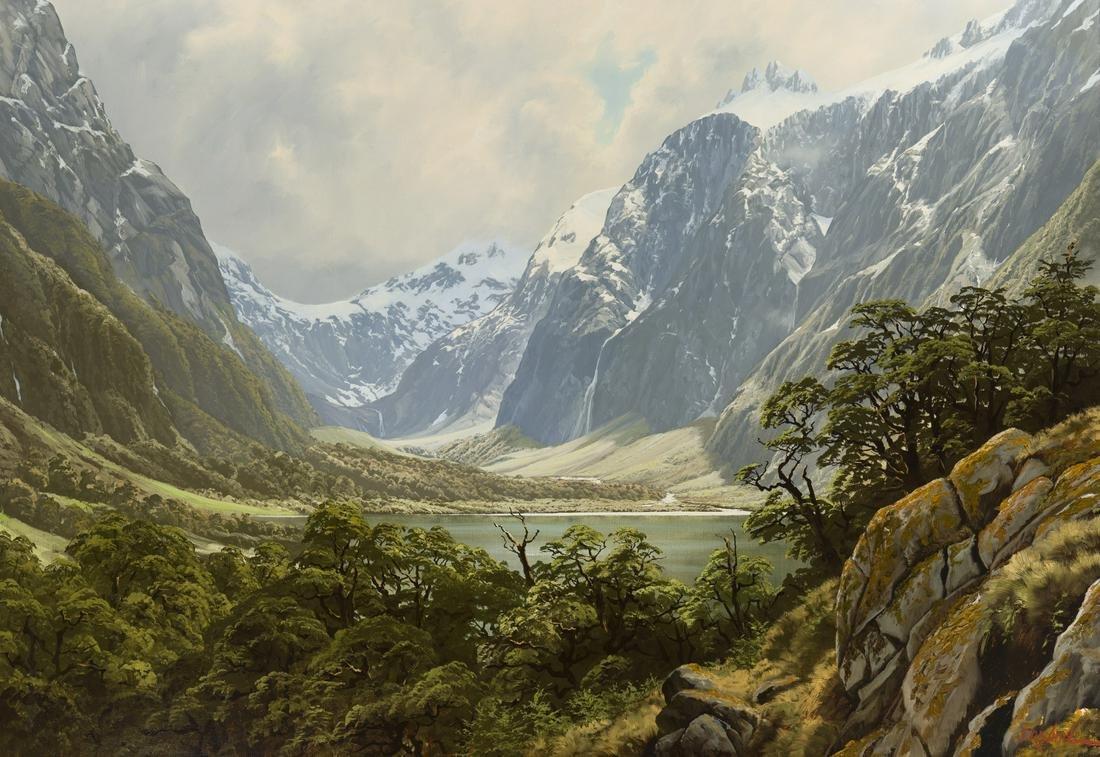 Jonathan R. White (b. 1938 New Zealander)