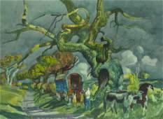 Millard Owen Sheets NA (1907-1989 Gualala, CA)