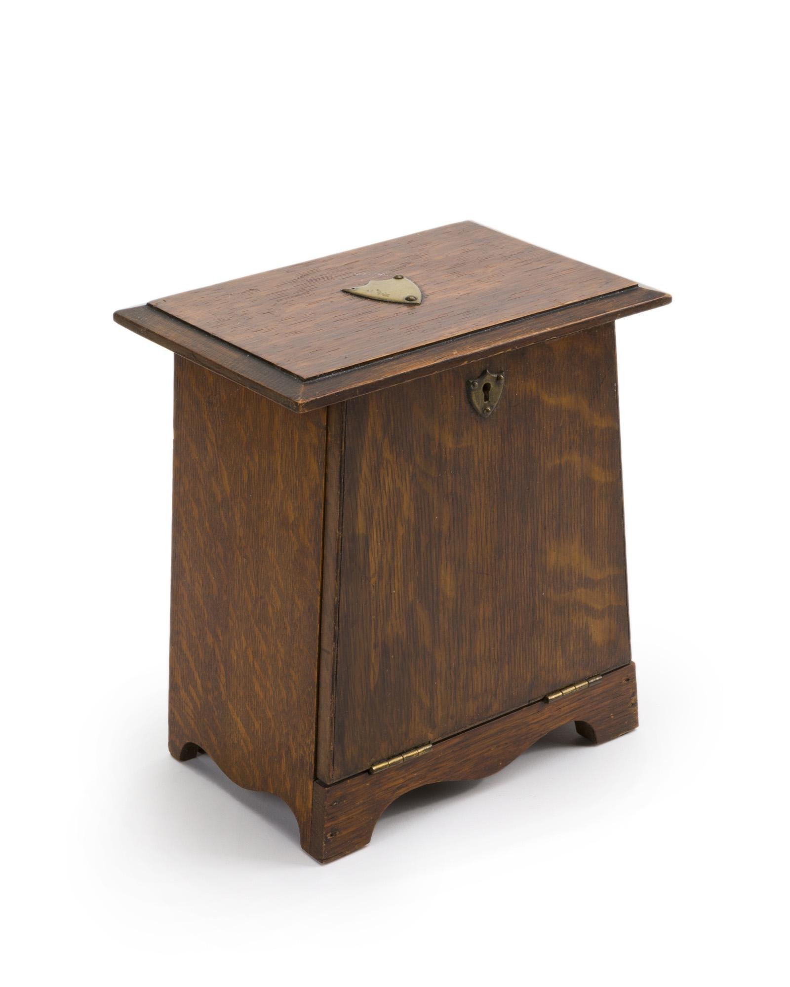 An English Arts & Crafts traveling letter desk