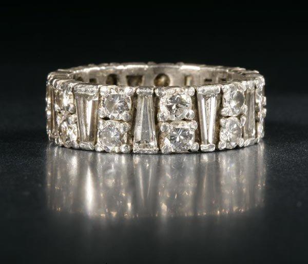 1024: A platinum and diamond eternity band