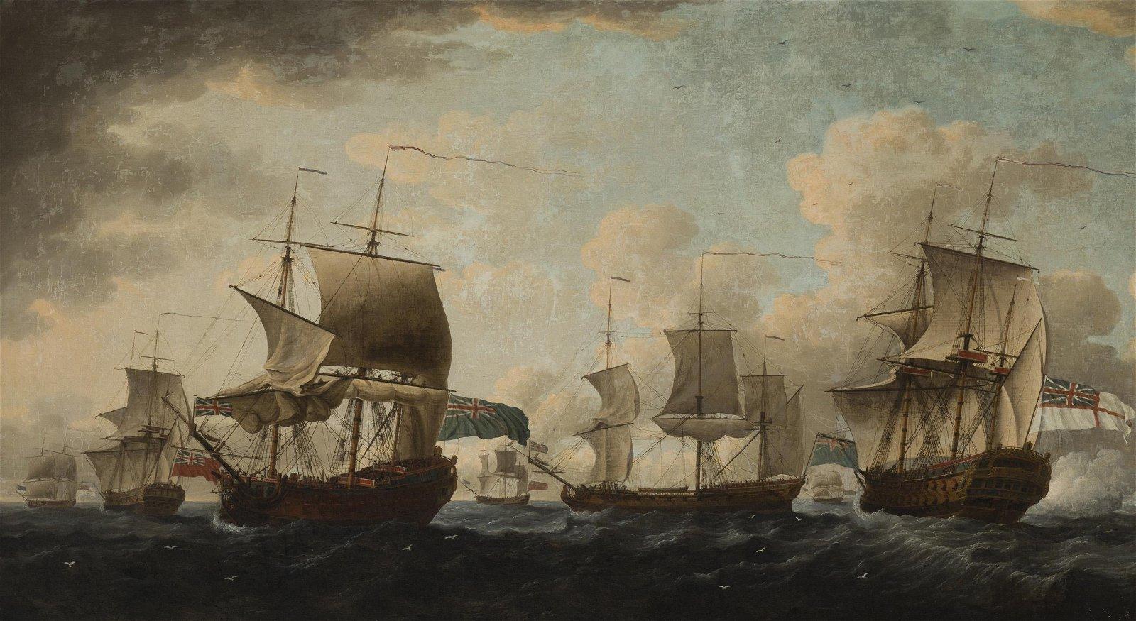 Robert Cleveley (1747-1809 British)
