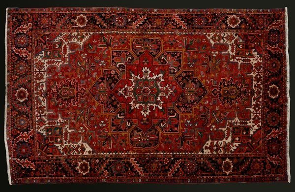 1015: A Persian Heriz carpet
