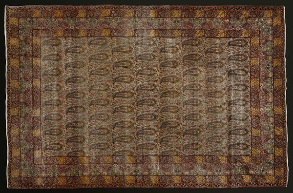 1016: A Persian Kirman botha design carpet