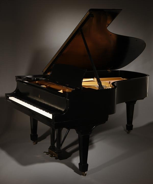 "1094: A Steinway model ""B"" ebonized grand piano"