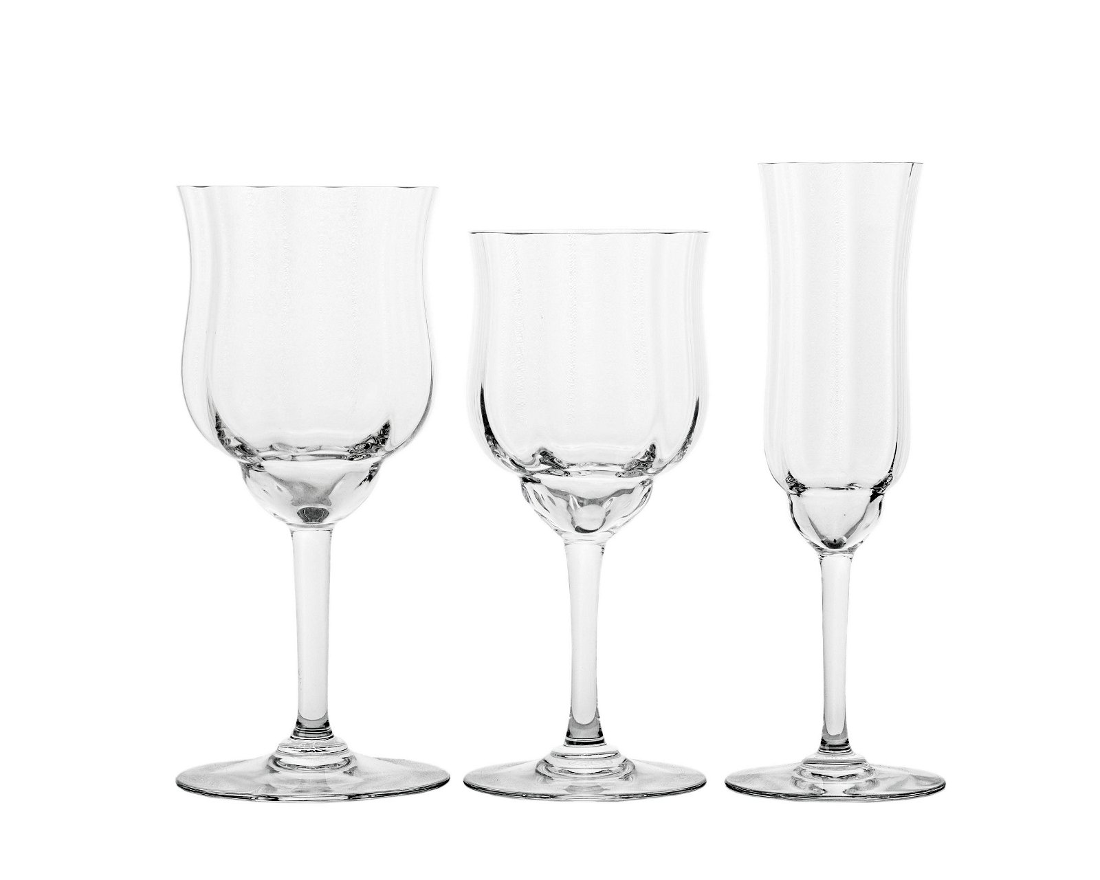"A group of Baccarat ""Capri"" stemware"
