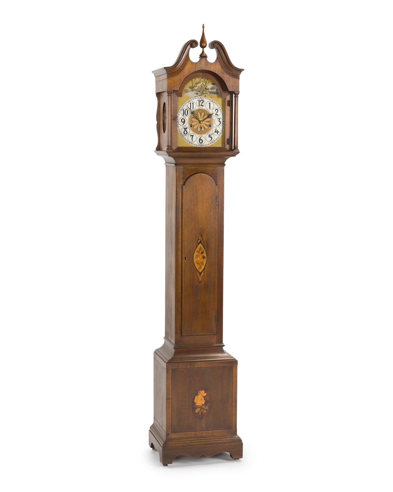 A German grandmother clock