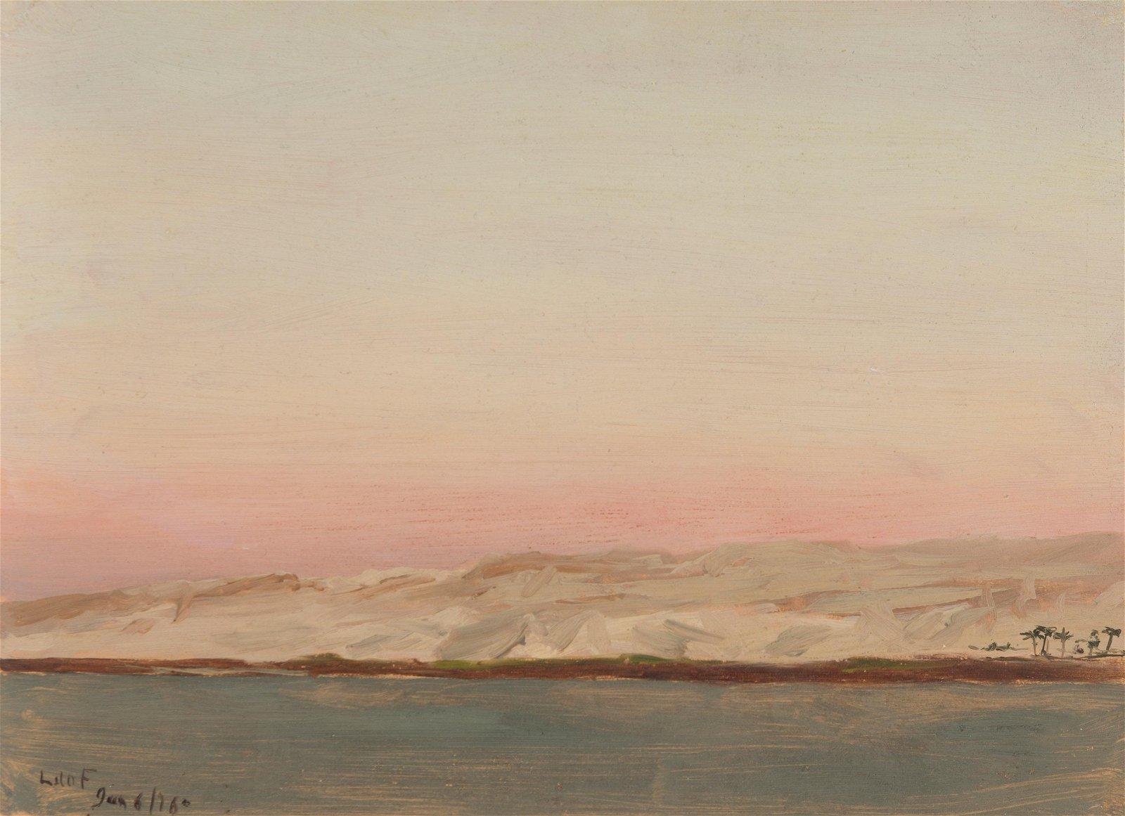 Lockwood de Forest (1850-1932 Santa Barbara, CA)