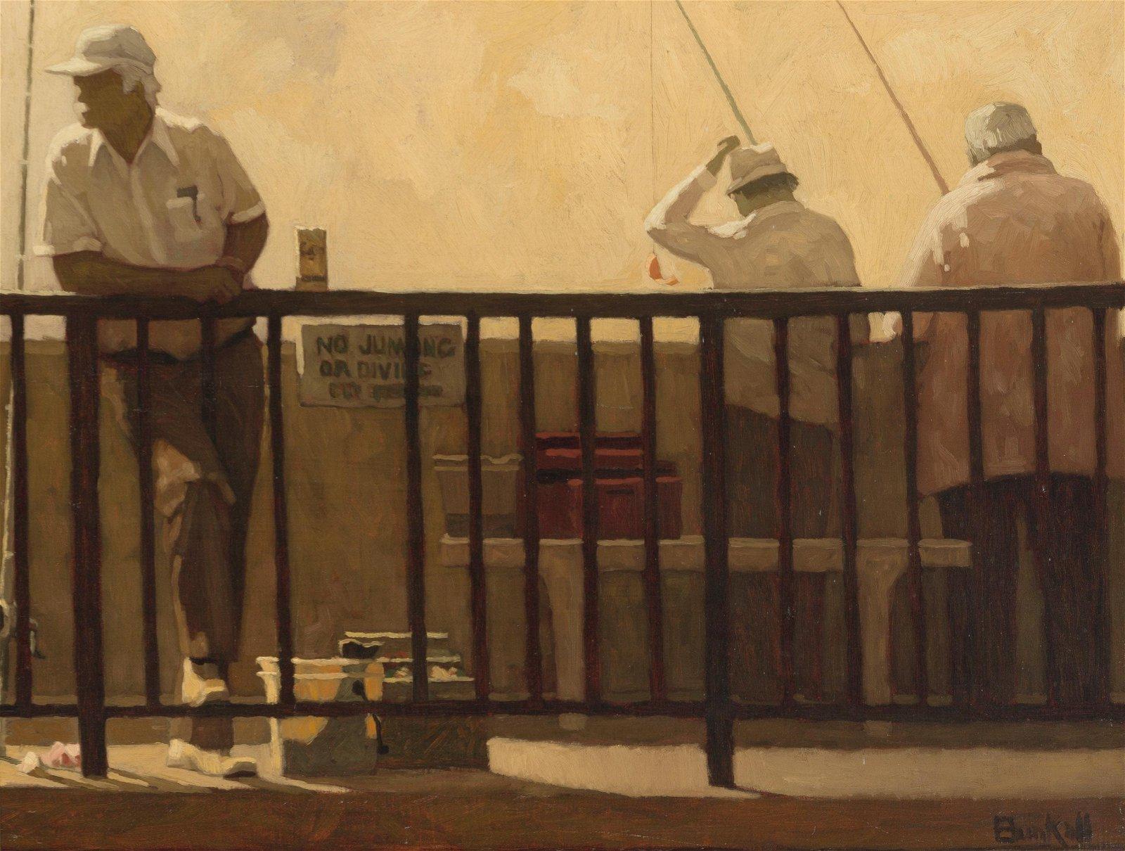 Richard Bunkall (1953-1999 Pasadena, CA)