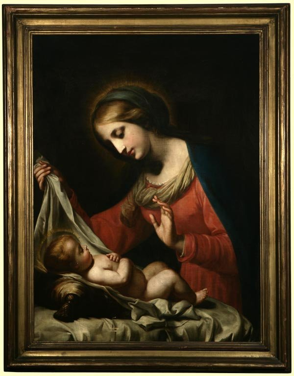 1035: After Carlo Dolci, 19th c., 'Madonna of the Veil'
