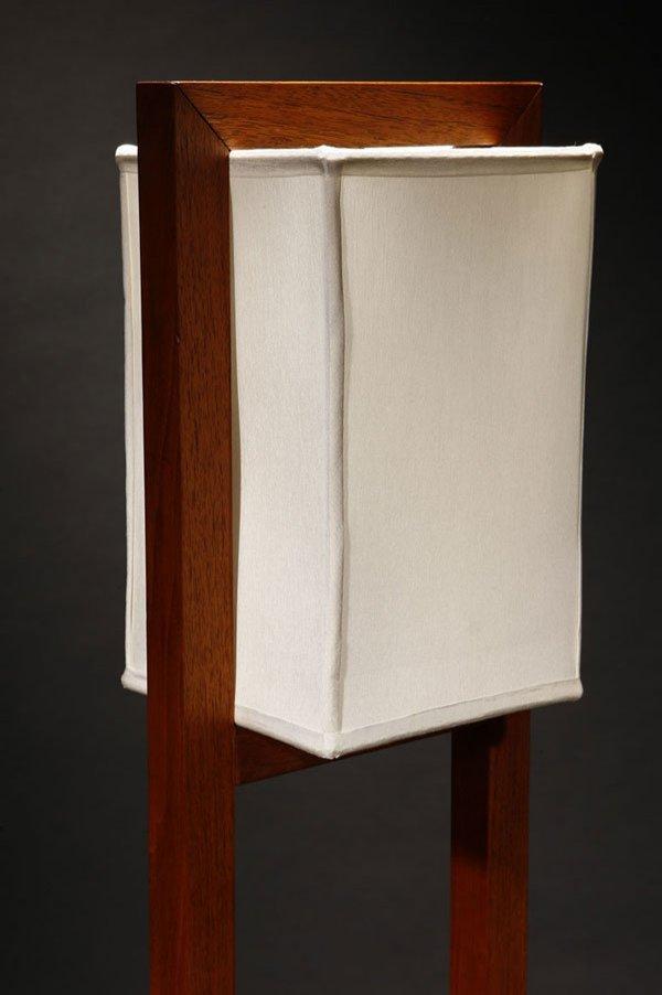 1142 A Frank Lloyd Wright Designed Walnut Floor Lamp