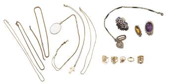 A group of Antique and Vintage jewelry