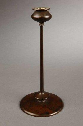 2001: A Robert Jarvie ''Beta'' bronze candlestick