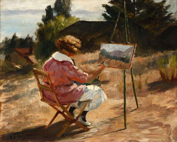 9: Ludmilla P. Welch (1867-1925)