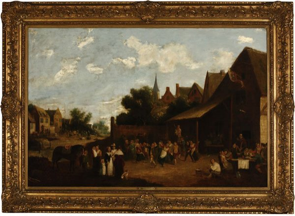 1017: Manner of David Teniers the Younger 18th / 19th c
