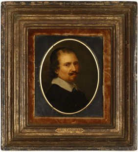 Attributed To Gonzales Coques (1641-1648)