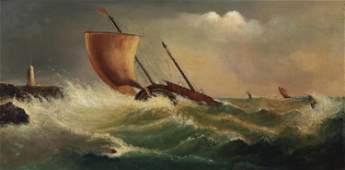 Edwin Hayes R.H.A. (1820-1904, British)