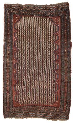 A Turkish geometric area rug