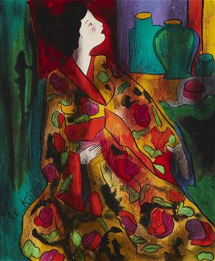 Linda Le Kinff (b. 1949, French)