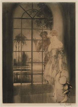 Louis Icart (1888-1950, French)
