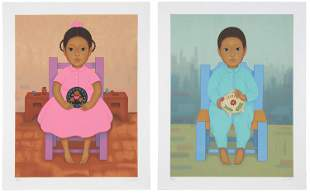 Gustavo Montoya (1905-2003, Mexican) Two works