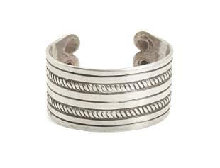 A William Spratling silver cuff bracelet
