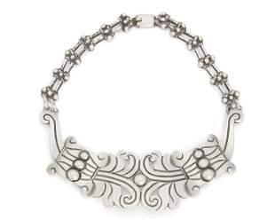 A Hector Aguilar silver necklace