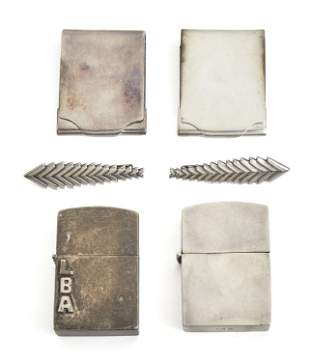 A group of Hector Aguilar silver accessories