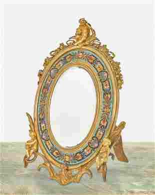An Alphonse Tahan cloisonne enamel and gilt-bronze