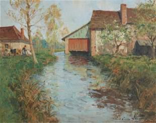 Paul Emile Lecomte (1877-1950, French)