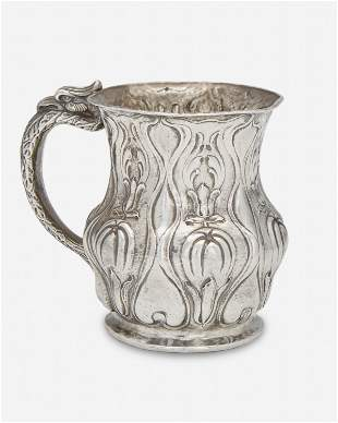 A Gorham Martele silver cup