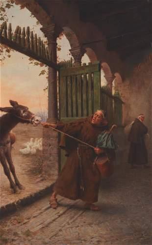 Francesco Bergamini (1851-1900, Italian)