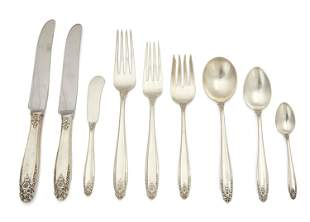 "An International ""Prelude"" sterling silver flatware"