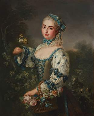 Louis Tocque (1696-1772, French)