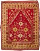 A Turkish Yahyali prayer rug