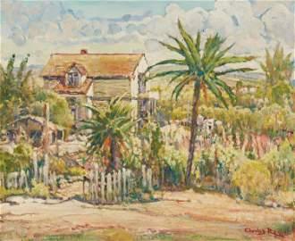 Charles Reiffel (1862-1942, San Diego, CA)
