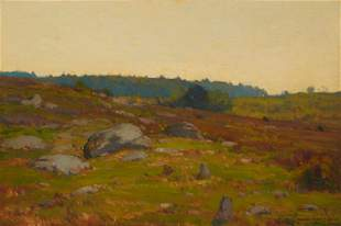 William Wendt ANA (1865-1946, Laguna Beach, CA)