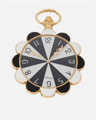 An Erte 18k Gold pocket watch