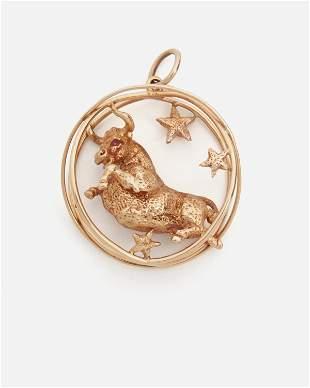 A Ruser Taurus charm
