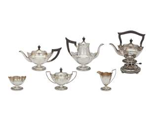 """A Gorham """"Plymouth"""" sterling silver tea and coffee"""