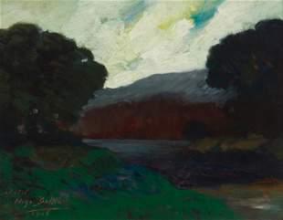 Hugo Ballin (1879-1956, Santa Monica, CA)