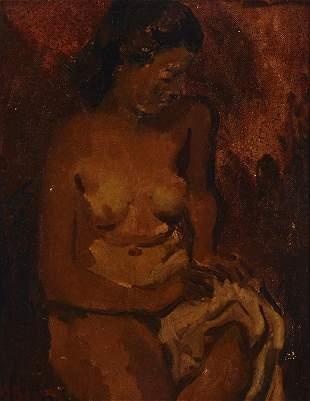 Moses Soyer (1899-1974, New York, NY)