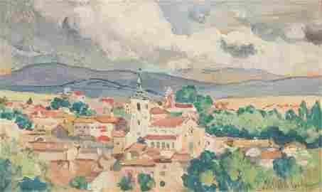 Colin Campbell Cooper (1856-1937, Santa Barbara, CA)