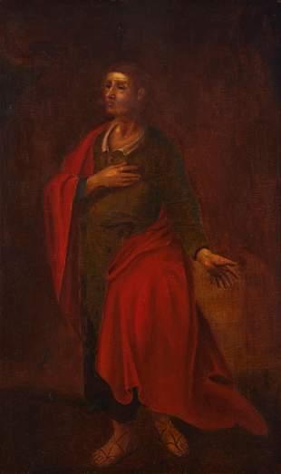 Portrait of Saint Luke