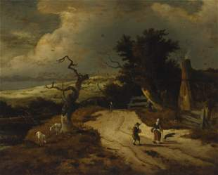 Attributed to Salomon van Ruysdael (1602/03-1670,