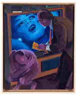 David Baze (1947-1998, American)