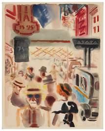 George Grosz (1893-1959, German)