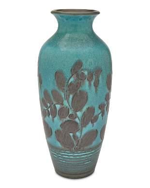 A large Rookwood pottery vase, William Ernst Hentschel