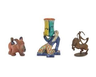 Three Austrian figural items
