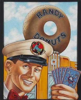 Dennis Larkins (20/21st Century, American)